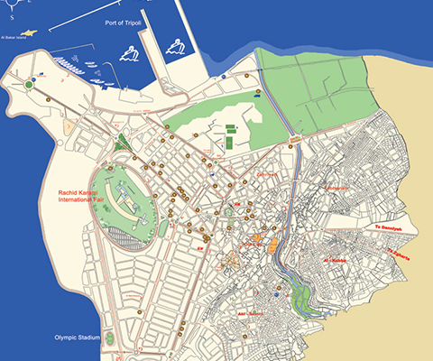IMPROVEMENT OF THE TRANSPORT PLAN STUDY IN THE TRIPOLI CITY – LEBANON